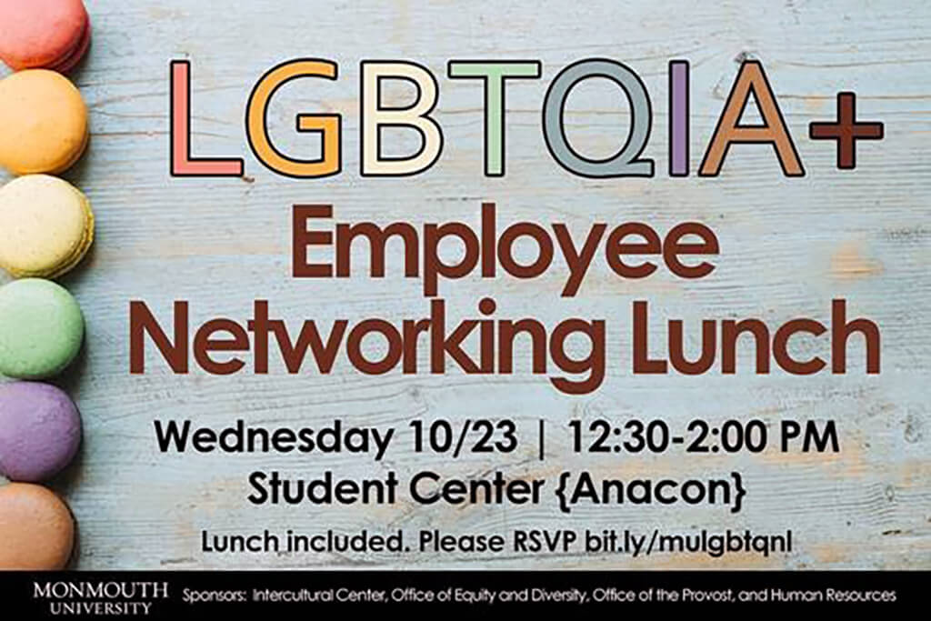 Click this image to register online for the LGBTQIA+ Employee Networking Luncheon