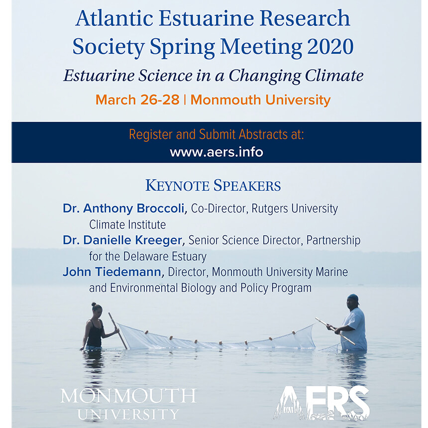 Image of Flyer for AERS Spring 2020 Meeting at Monmouth University