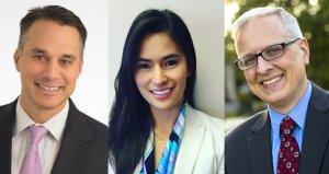 Photo of Panelists (from left:: Michael DuHaime, Hanna Mori and Patrick Murray