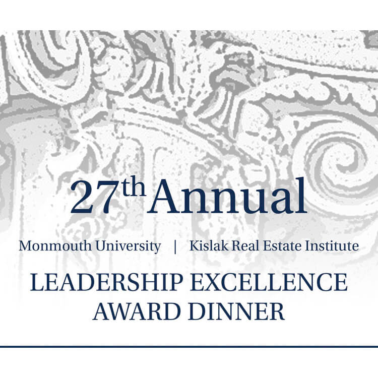 27th Annual Leadership Excellence Award Dinner at Monmouth University