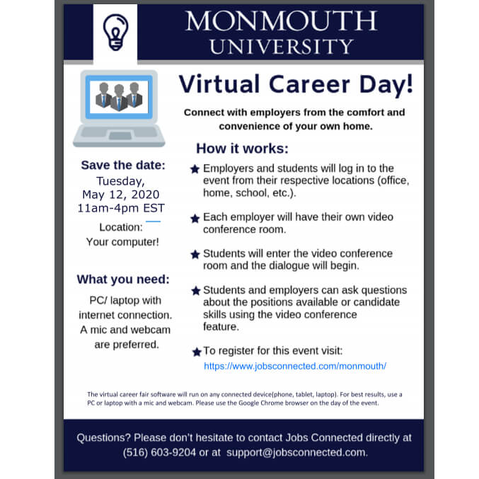Photo for Virtual Career Day May 12, 2020