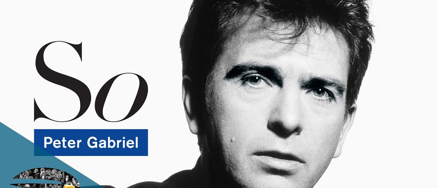 Album cover image of So by Peter Gabriel