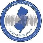 Image shows the official seal of the State of New Jersey Civil Service Commission