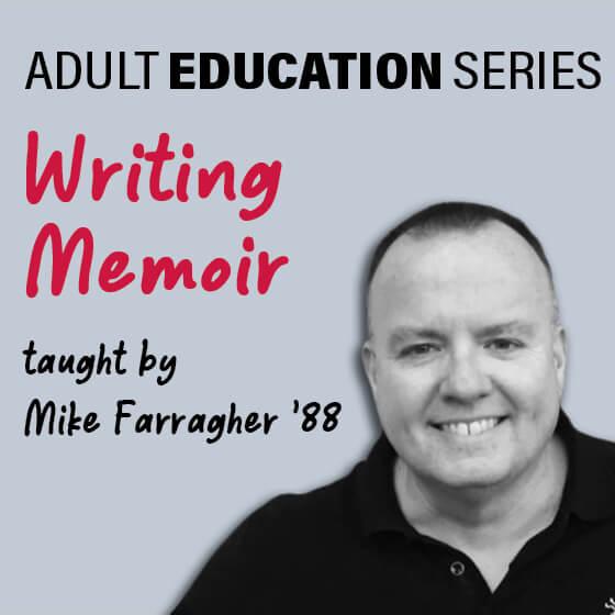 Adult Education Series: Writing Memoir