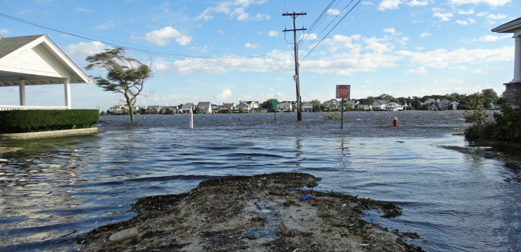Image captures stormwater runoff pollution at the Jersey Shore