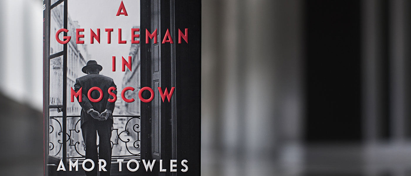 Virtual Tuesday Night Book Club: Amor Towles' A Gentleman in Moscow