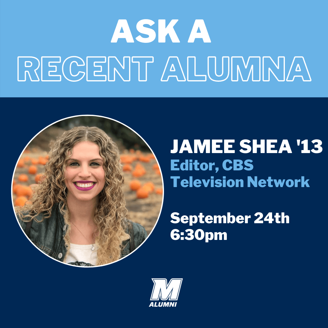 Jamee Shea Ask a Recent Alumna