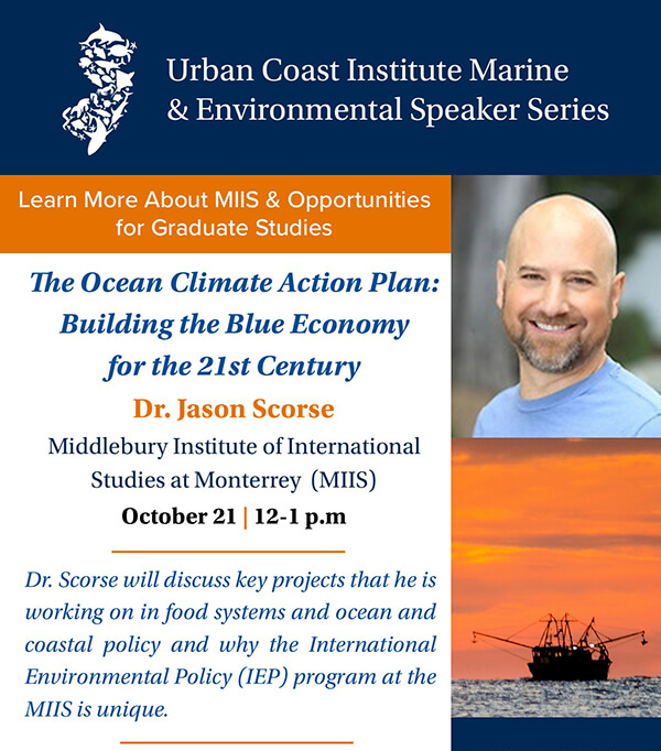 The Ocean Climate Action Plan Event Flyer