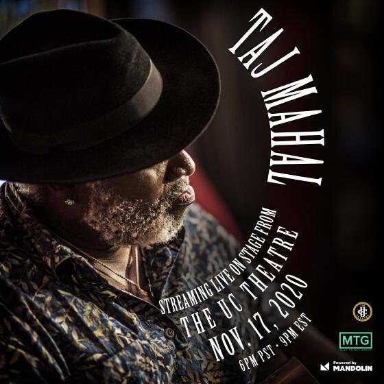TAJ MAHAL – Livestream
