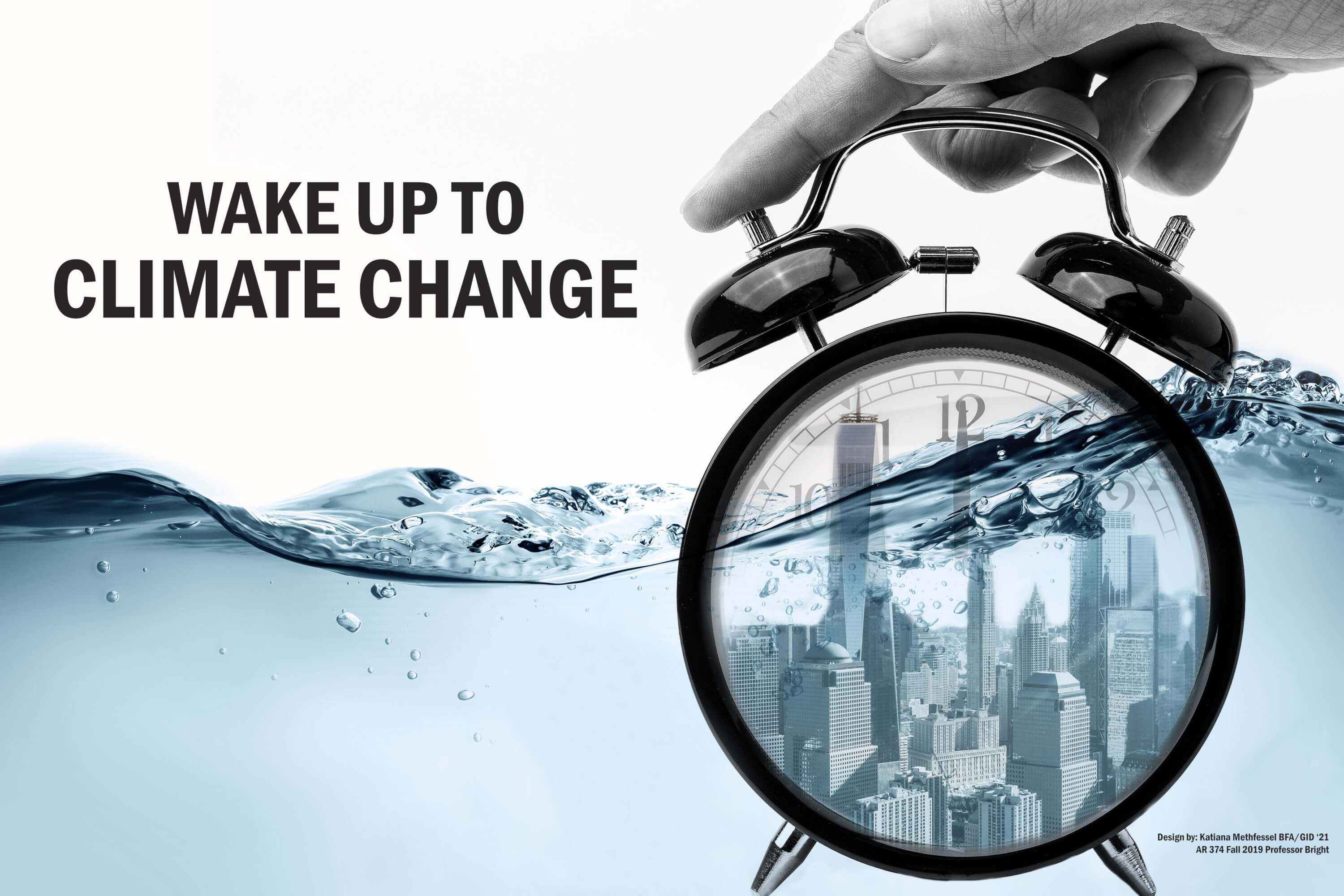 Wake up to Climate Change