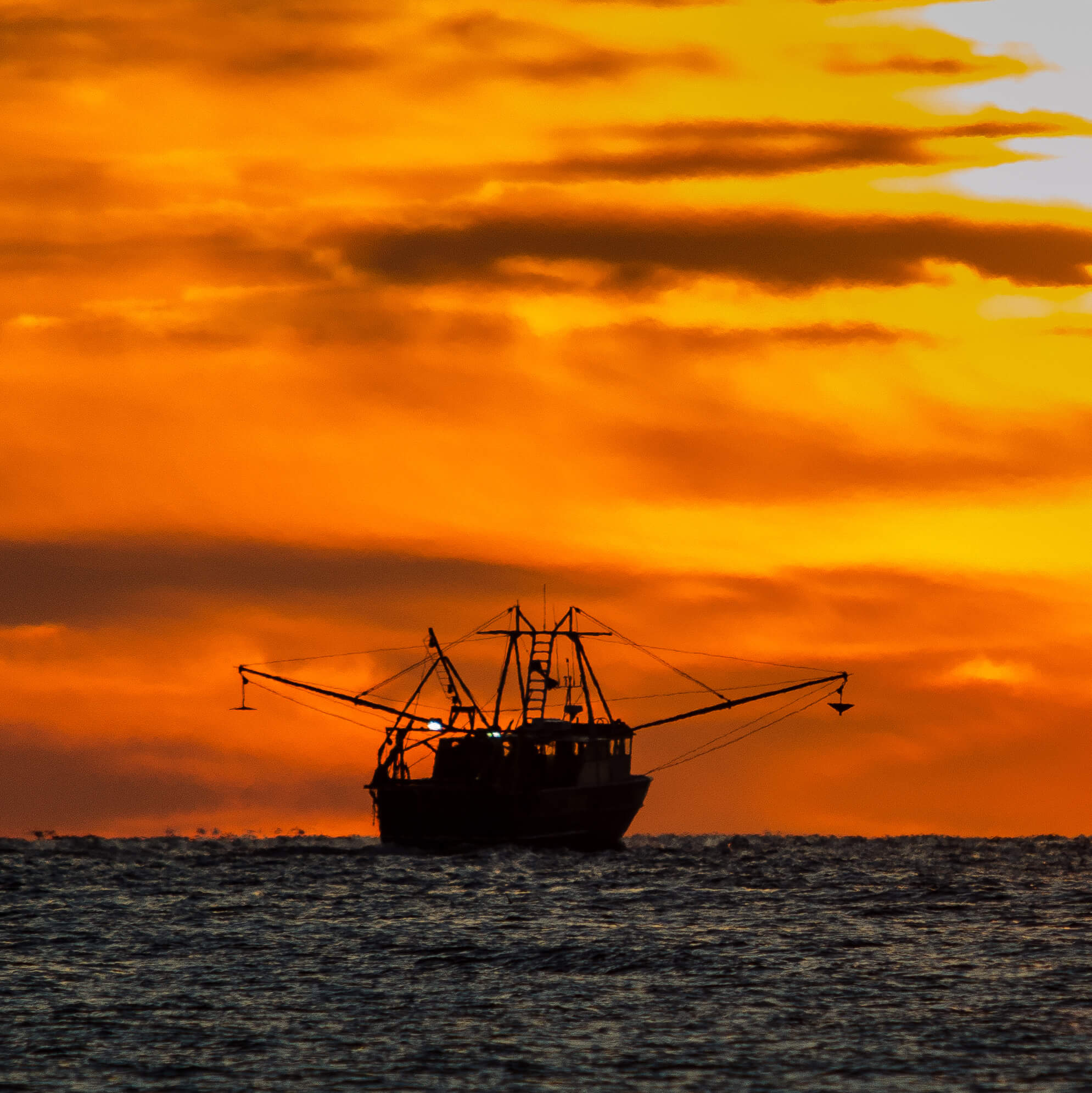 Photo of Fishing Ship on the Ocean