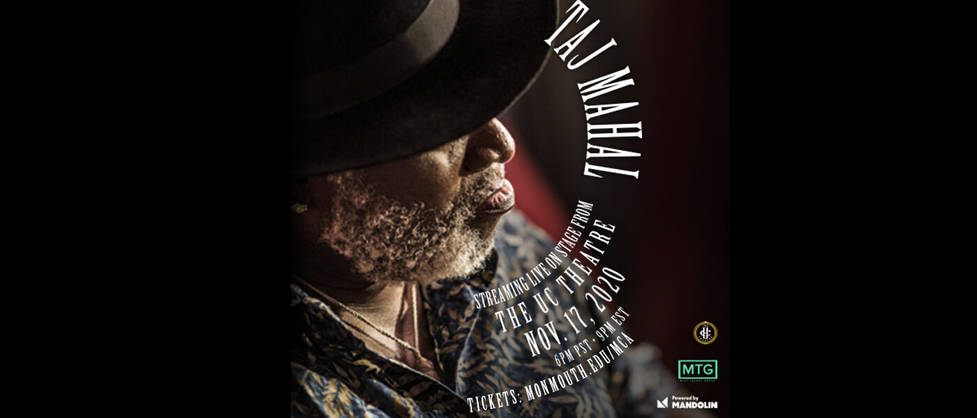 Photo for Taj Mahal livestream from the UC Theatre