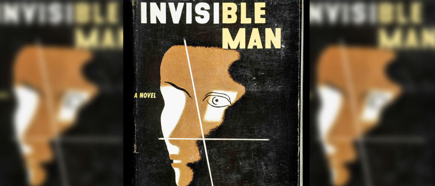 Photo of book cover from Ralph Ellison's Invisible Man
