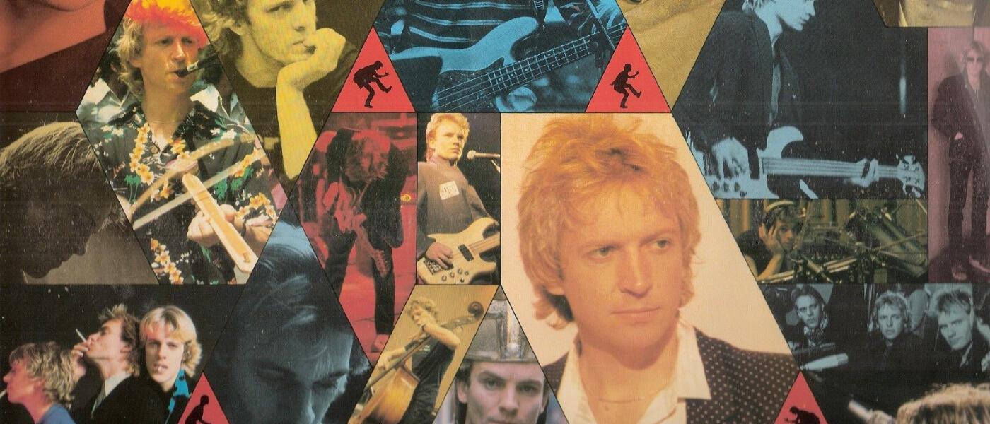 Photo montage from The Police's album Zenyatta Mondatta