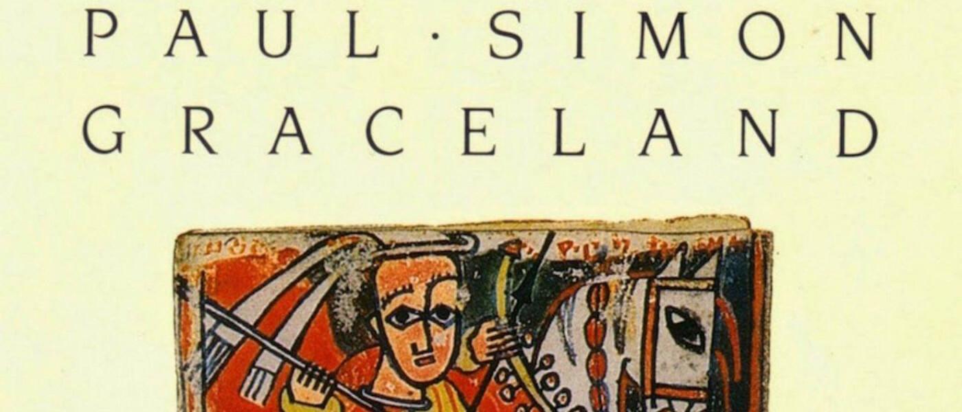 Photo image album cover of Paul Simon's Graceland