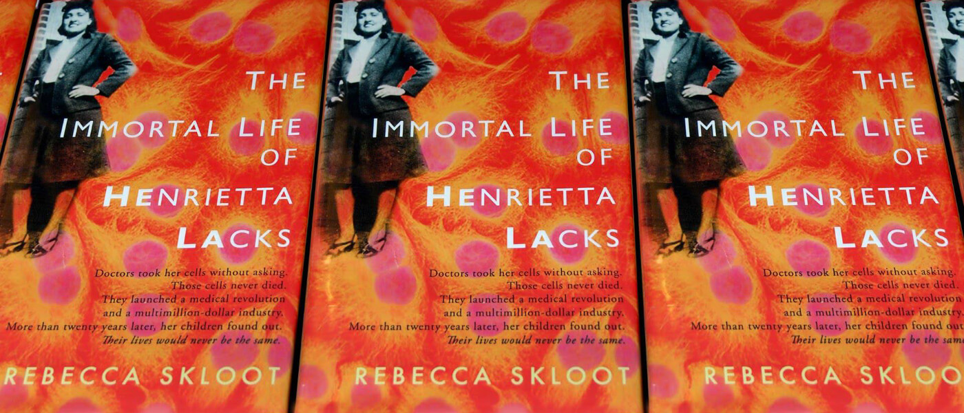 Photo image of book cover for The Immortal Life of Henrietta Lack by Rebecca Skloot