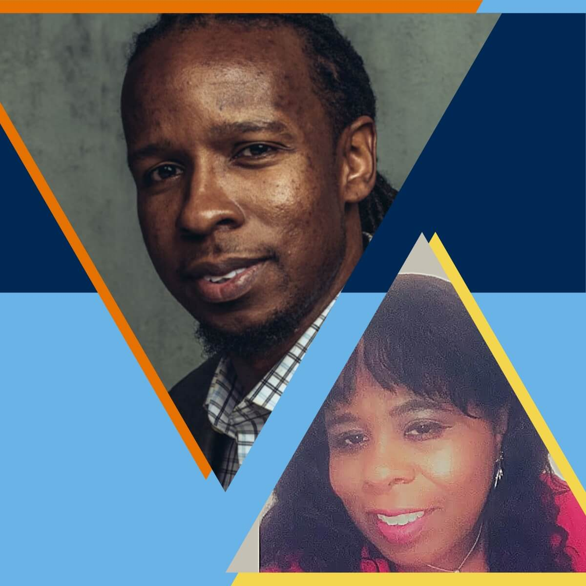 Ibram X. Kendi and Hettie V. Williams