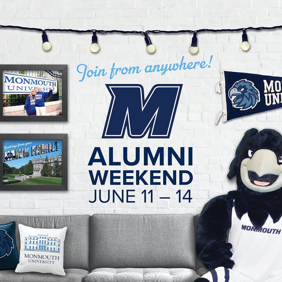 Join from anywhere! Alumni Weekend, June 11-14.