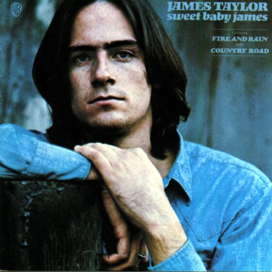 Virtual Tuesday Night Record Club: James Taylor, Sweet Baby James
