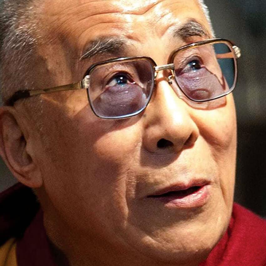 Photo of the XIV Dalai Lama