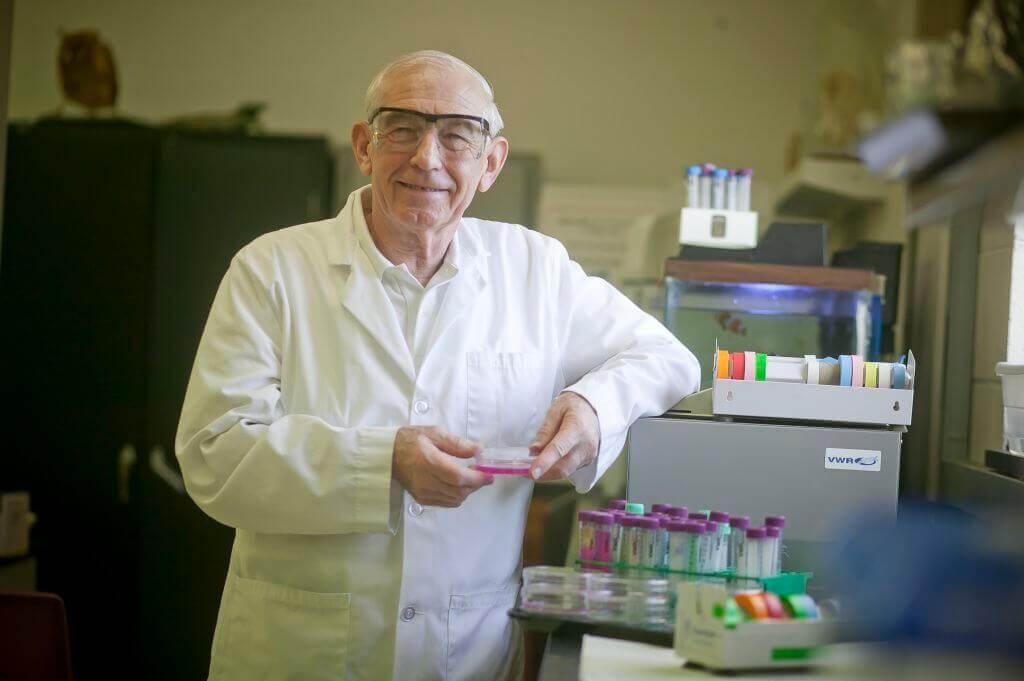 Professor of Biology James P. Mack