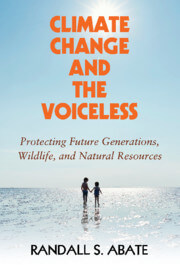 Book Cover for Climate Change and the Voiceless