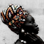 Photo of African Woman with headdress