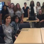 Group photo of MU Conversation and Action Event student organizers