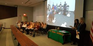Eta Sigma Gamma Induction Ceremony