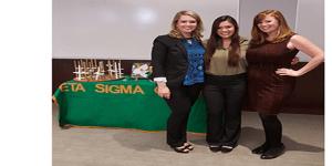 Kristen Harger, Jessica Deak, and Dr. Jaime Myers