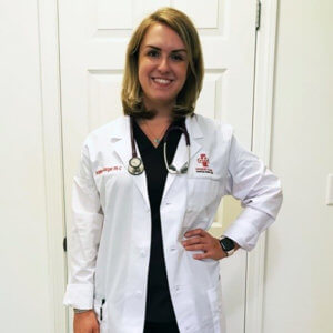 Photo of Kristen Harger: - Click to see graduates pursuing careers as physician assistants
