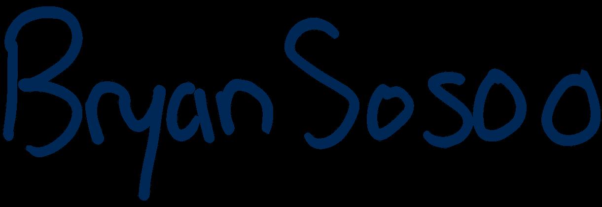 Bryan Sosoo's signature