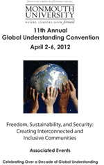Global Understanding Convention 2012 Program Cover