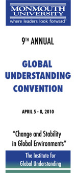 Global Understanding Convention 2010 Program Cover