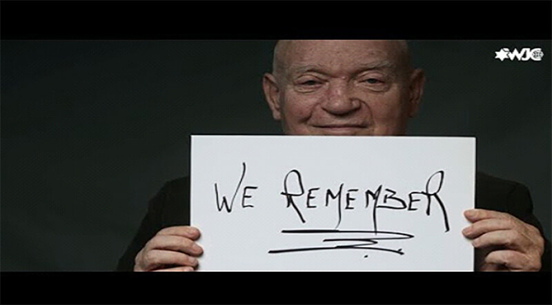 Screenshot from UN Forum -We Remember Campaign for International Holocaust Remembrance Day