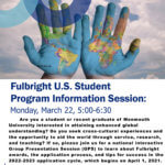 Fulbright Student Scholarship Program Information Session Event Flyer