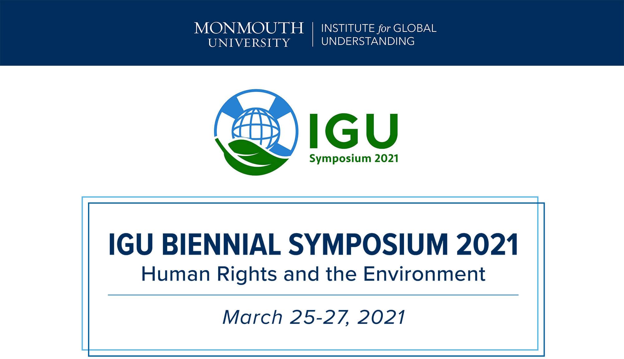 Image of 2021 IGU Biennial Symposium Program Cover