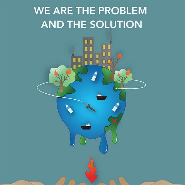 IGU Poster Image: We Are the Problem and the Solution