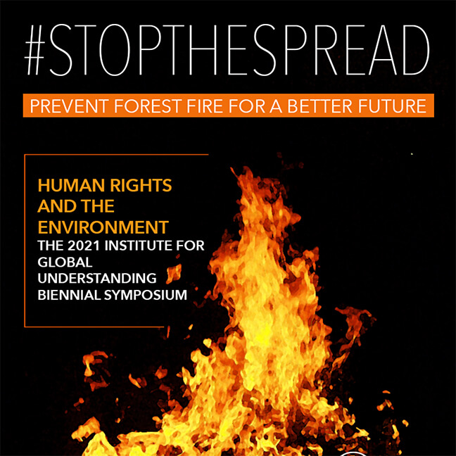 IGU Poster Image: #StopTheSpread - Prevent Forest Fires for a Better Future (2)