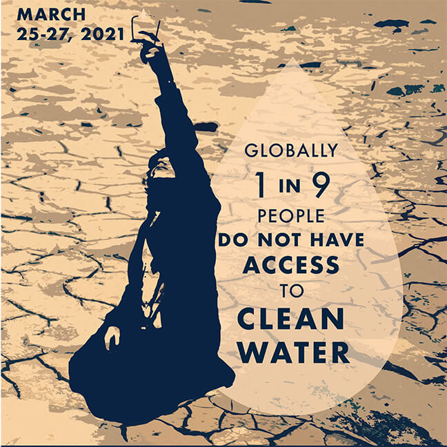 IGU Poster Image: Globally 1 in 9 People Do Not Have Access to Clean Water