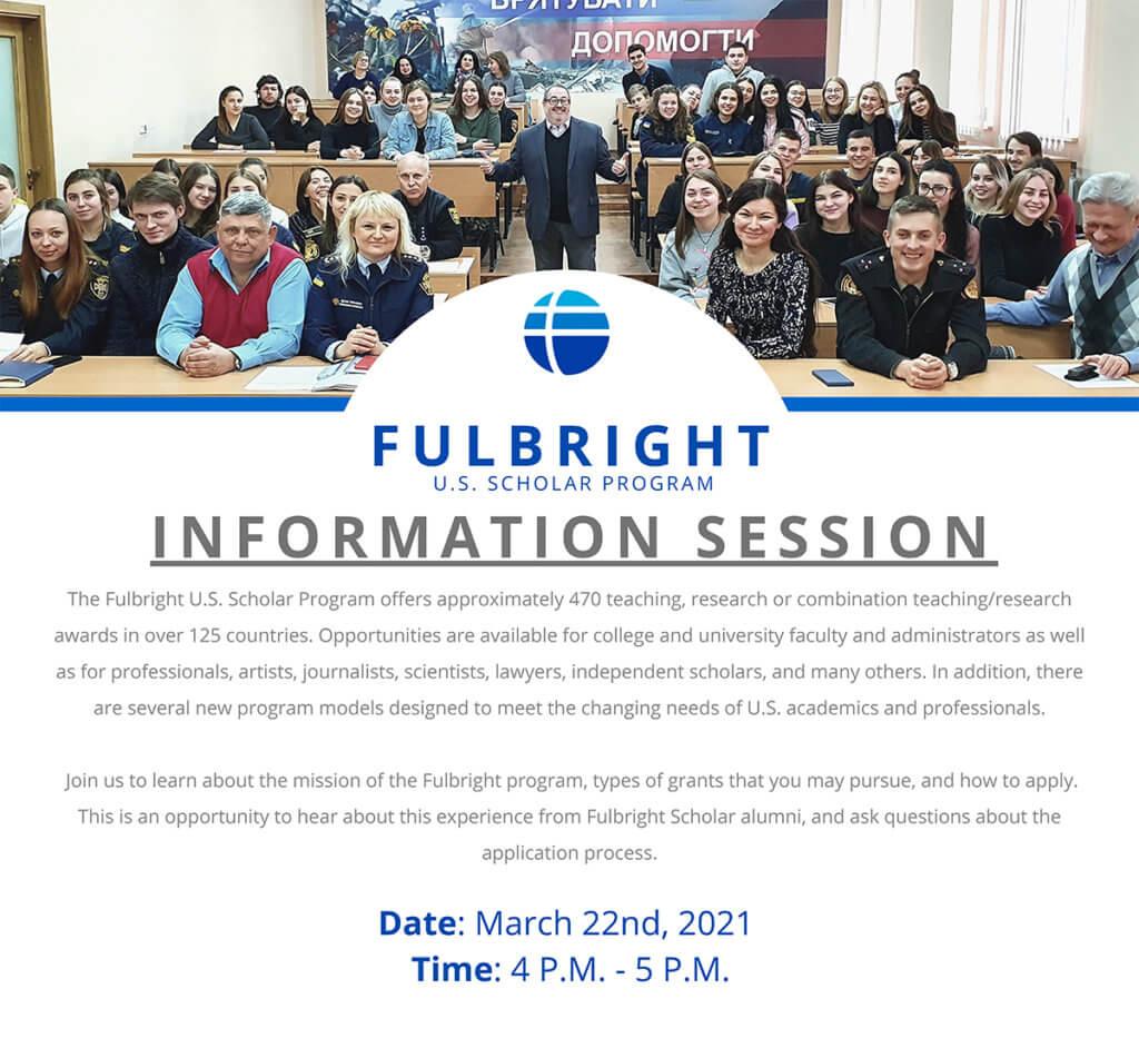 Photo image for MU Faculty Info Session for Fulbright U.S. Scholar Program