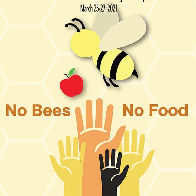 IGU Poster Image: No Bees. No Food.