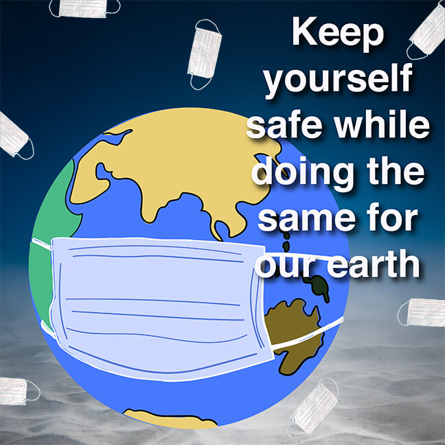 IGU Poster: Keep Yourself Safe While Doing the Same for Our Earth