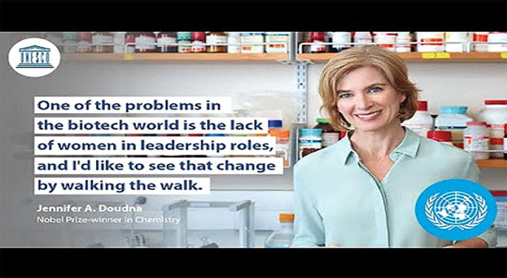 ScreenshotU from UN Women Leadership video