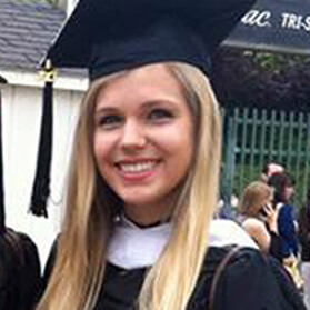 Victoria Drake, BA Psychology, Class of 2013