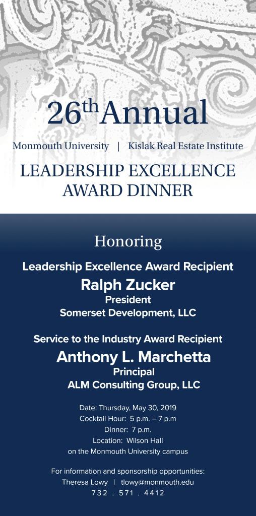 26th Annual Leadership Excellence Award Dinner