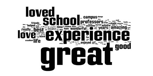 May 2013 Exit Survey: Word Cloud
