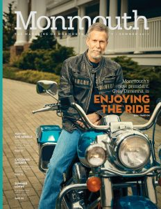 The Cover of Monmouth Magazine's Summer 2017 issue