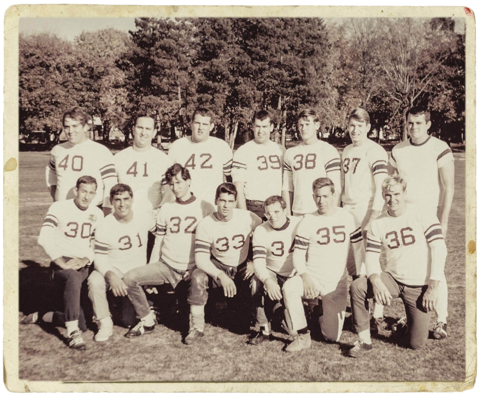 The Chinese Bandits, a Monmouth intramural sports powerhouse in the 1960s.