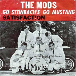 Cover of an album by The Mods, who Al Mott managed